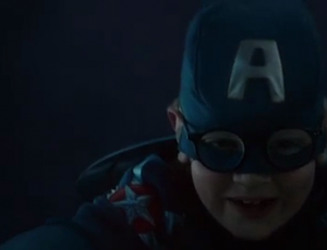 "Chevy/Captain America's ""All in a Day's Work"""